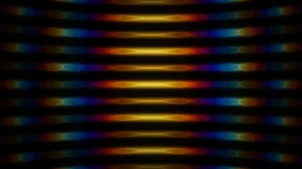 Vlny barevných světel