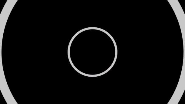 круг и белый видео