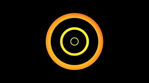 Pohyblivé oranžové kruhy