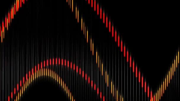 Pohyblivé čáry vlna