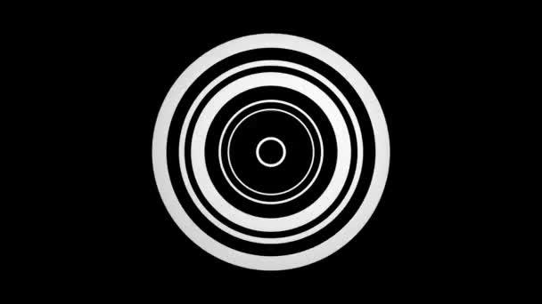 Pohyblivé hypnotické kruhy