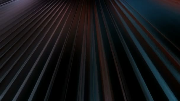 Moving dark stripes