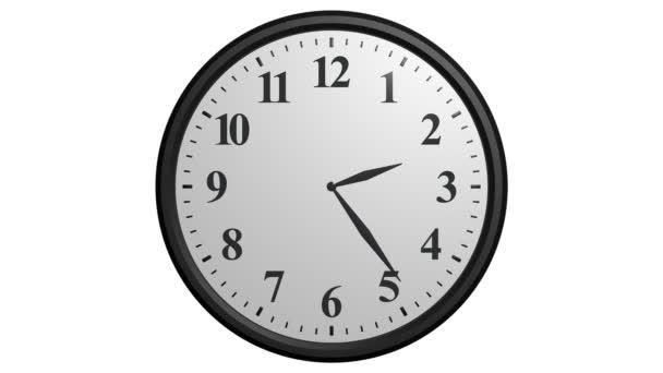 Nástěnné hodiny animace