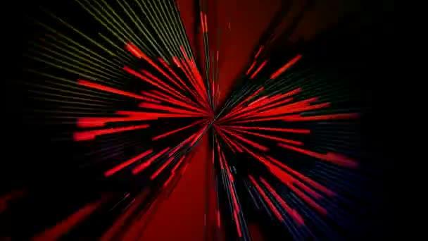 mozgó piros vonalak