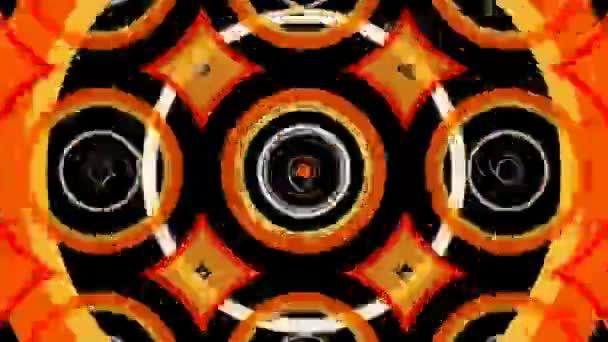 Pohybující se barevné kruhy