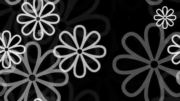 Grey floral pattern