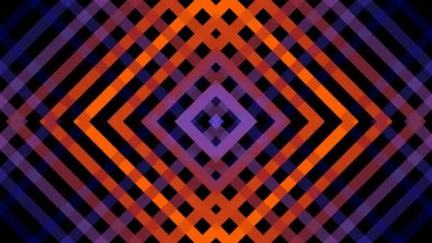 Pohyblivé zrcadlo mřížku čtverců