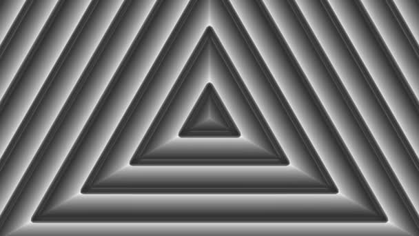 Moving monochrome triangles