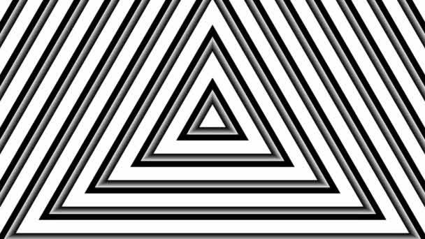 Mozgó fehér háromszög