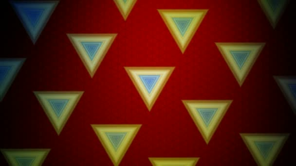 Moving tile of triangles