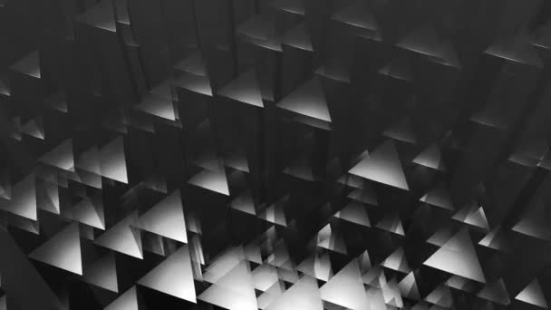 Pohybující se šedými trojúhelníčky