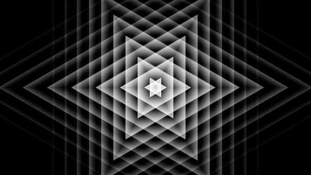 Pohybující hvězda trojúhelník