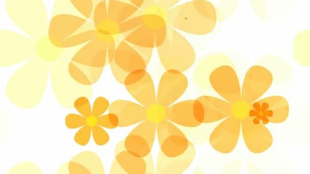 světlé květinový vzor