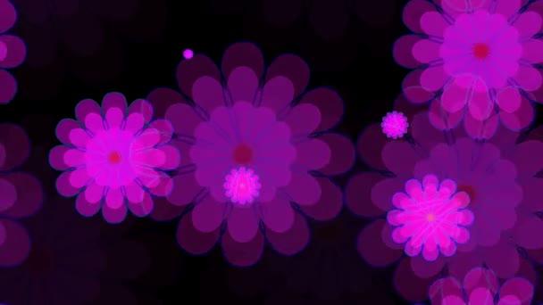 fényes virágmintás