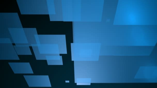 moving blue tiles