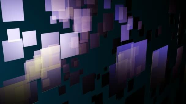 moving purple tiles