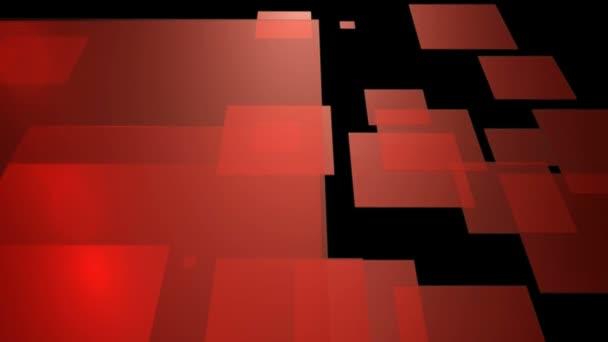 flying red tiles