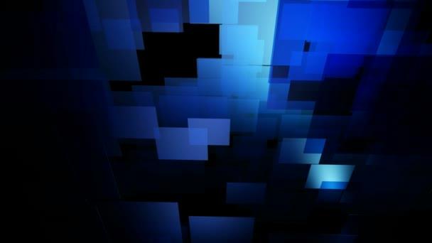 Moving blue grid