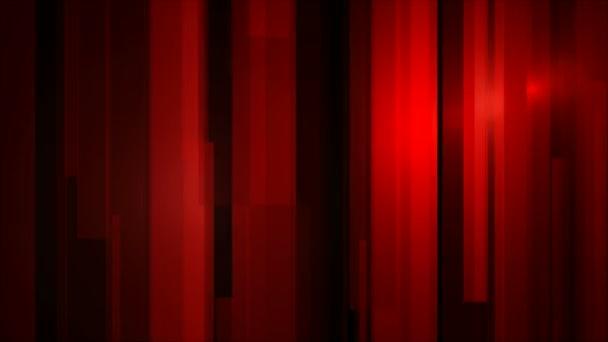 pohybující se červená světla