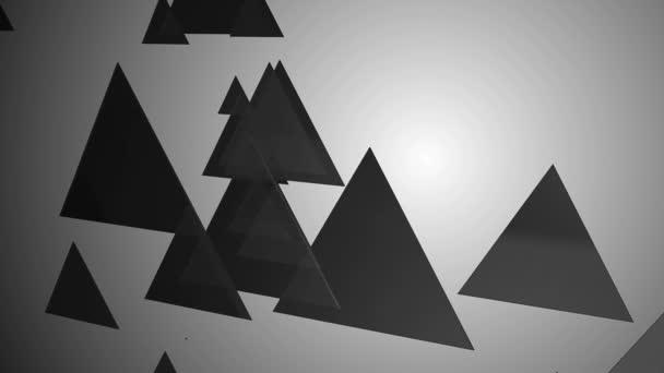 grey triangle animation