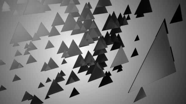 fekete-fehér háromszög terület