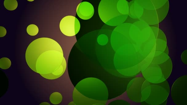 Cerchi verdi Glow