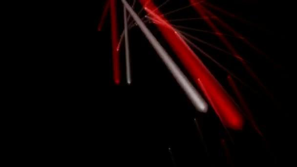 red white sticks