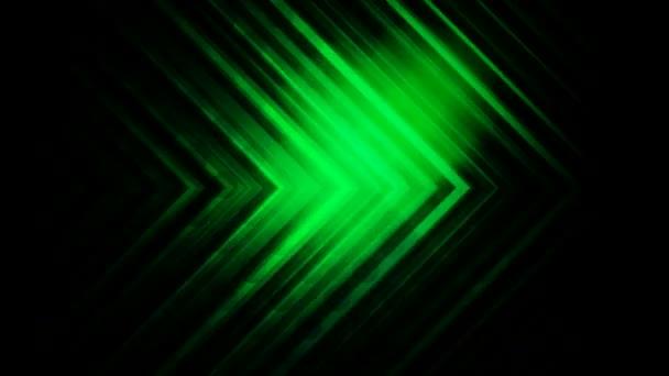 green arrow lines