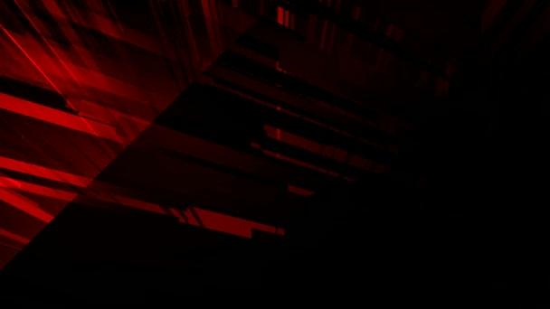 obrazec prostoru červená