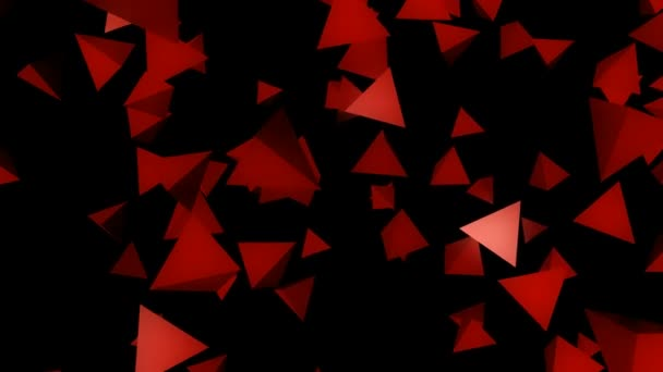 red flying pyramids