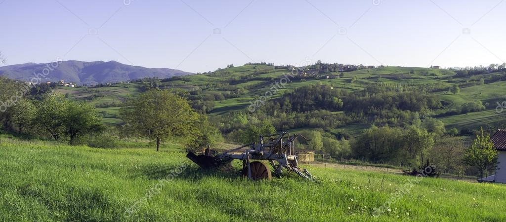 Panorama of Oltrepo Pavese