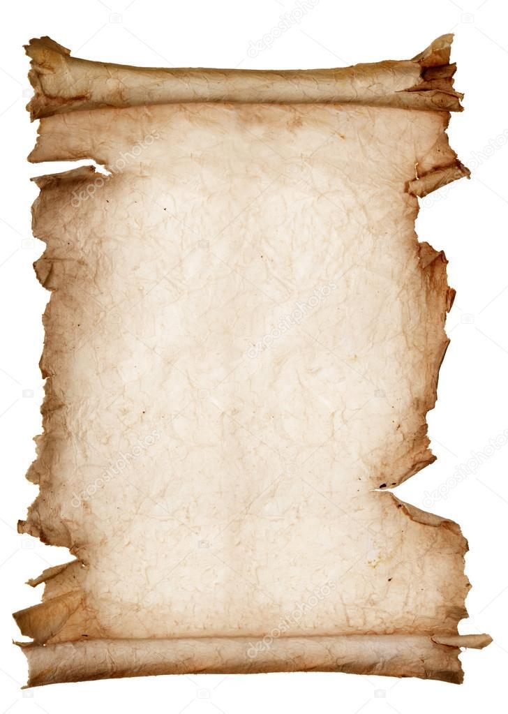 Set of old paper scroll   — Stock Photo © AlexanderNovikov #111030058