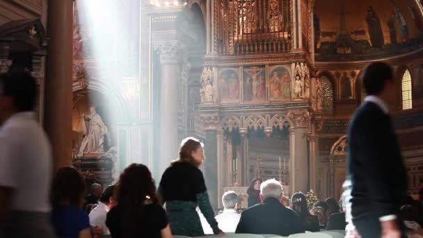 Attending the liturgy