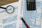 Fotografie USA jednotlivé daňové přiznání formulář 1040