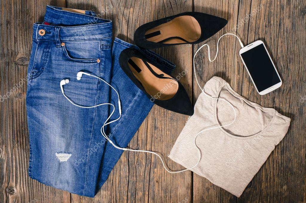 Casual woman clothes