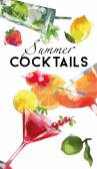 Sommer-Cocktails-Hintergrund
