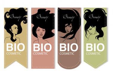 Vector Bio cosmetic label set