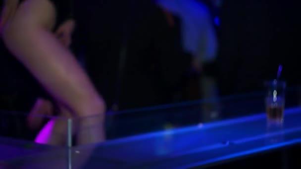 Tanz pj im Nachtclub