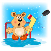 Photo Bear hockey  player