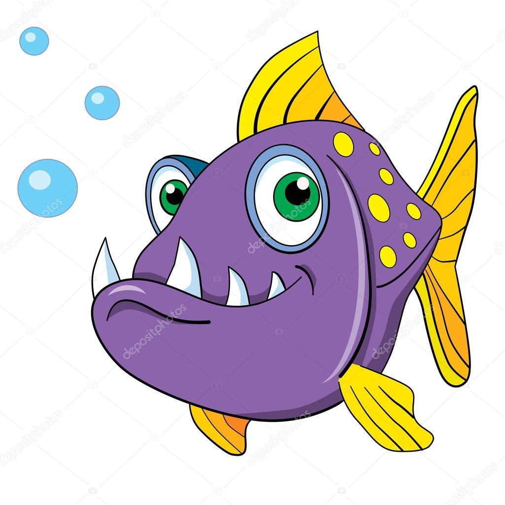 Dessin anim poisson dentaire image vectorielle vitasunny 64607923 - Poisson dessin couleur ...