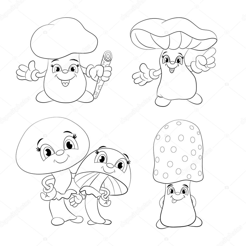 fungus coloring pages - photo#16