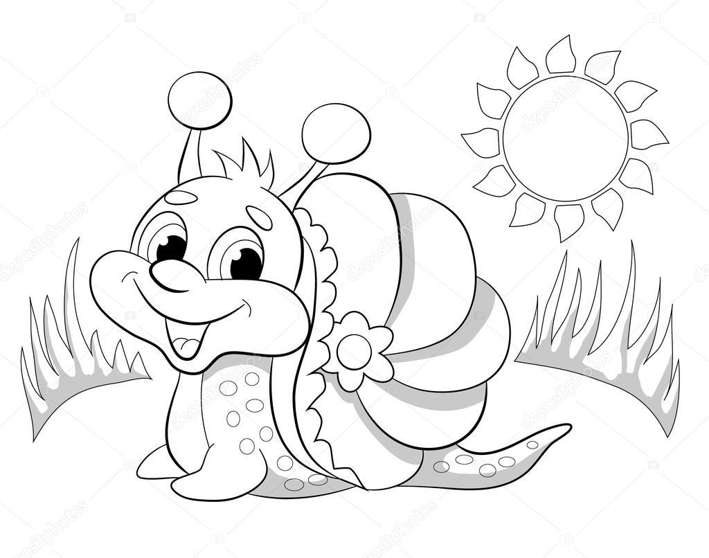 Dibujos Infantiles De Caracoles Para Colorear: Dibujos: Caracoles Para Colorear