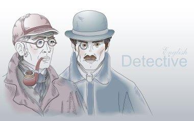 Detective Sherlock Holmes and Dr. Watson