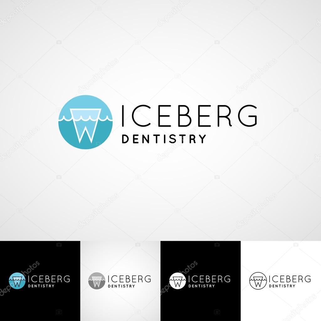 Kreative Zahn Logo Vorlage Teethcare Symbol Set Zahnarzt