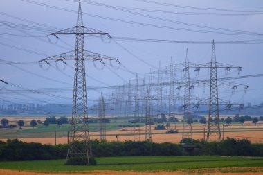 High Power Transmission Line.