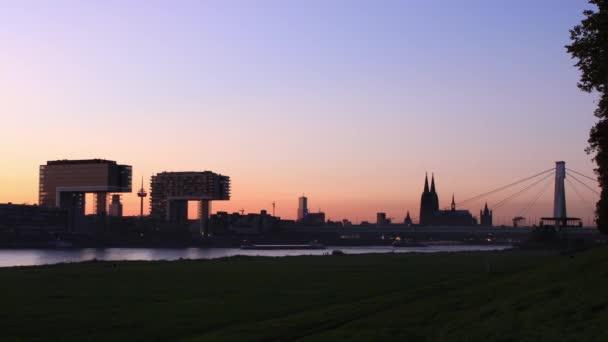 Köln - Deutschland - Zeitraffer