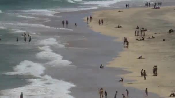 Pláž - časová prodleva