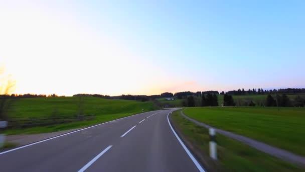 Jízdy Shot - Road - Německo