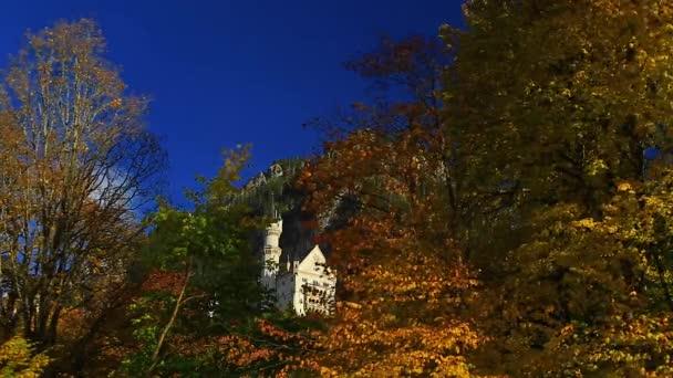 Nové Swanstone hrad, zámek Neuschwanstein, Bavorsko, Německo