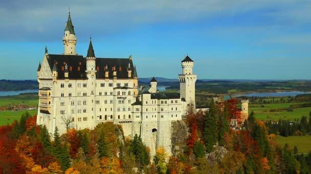 Új Swanstone-kastély, a Neuschwanstein kastély, Bajorország, Németország